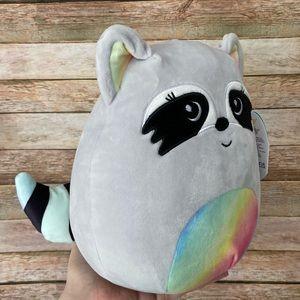 Squishmallow Max The Rainbow Raccoon NEW